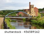 sheffield   city in south... | Shutterstock . vector #456589162