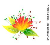 flowers | Shutterstock .eps vector #456595072