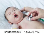 professional pediatrician... | Shutterstock . vector #456606742
