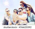 summer holidays  teenage and... | Shutterstock . vector #456623392
