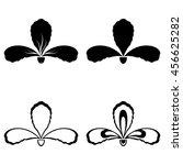 Four Vector Iris Silhouettes...