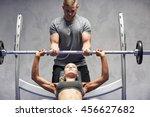 sport  fitness  teamwork ... | Shutterstock . vector #456627682