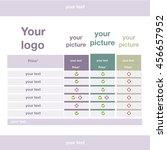 table   Shutterstock .eps vector #456657952