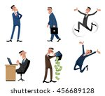 vector illustration of a six... | Shutterstock .eps vector #456689128