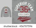 t shirt print. graphic design...   Shutterstock .eps vector #456707596