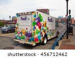 boston massachusetts usa   july ...   Shutterstock . vector #456712462