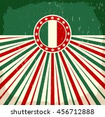 Italy Vintage Old Poster With...