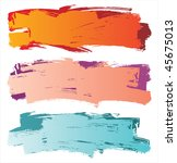 colorful grunge  backgrounds | Shutterstock .eps vector #45675013