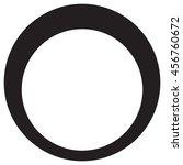 diamond ring one | Shutterstock .eps vector #456760672