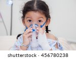 sick children in hospital   Shutterstock . vector #456780238
