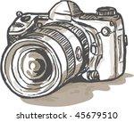 vector hand sketch drawing... | Shutterstock .eps vector #45679510