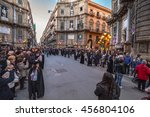 palermo  italy   march 25 2016  ... | Shutterstock . vector #456804106