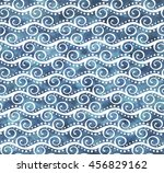 abstract seamless pattern with... | Shutterstock . vector #456829162