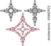 vector christian cross | Shutterstock .eps vector #45682921
