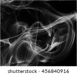 halftone dots vector smoke on a ... | Shutterstock .eps vector #456840916