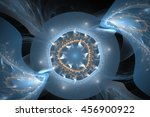 Abstract Magic Fractal On The...