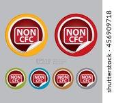 vector   non cfc infographics... | Shutterstock .eps vector #456909718