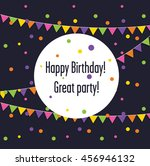 set banner with flags and... | Shutterstock .eps vector #456946132