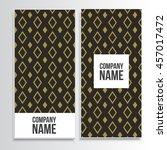 abstract flyer design background | Shutterstock .eps vector #457017472