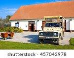 hortobagy  hungary   october 31 ... | Shutterstock . vector #457042978