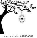 vector illustration of vintage... | Shutterstock .eps vector #457056502