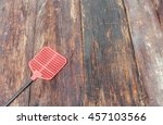 Red Fly Swatter. Single...