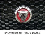 Jaguar Car Emblem. Meeting Of...