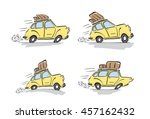vector illustration  set of... | Shutterstock .eps vector #457162432