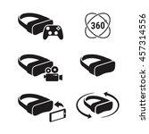 vr icons | Shutterstock .eps vector #457314556