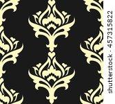 seamless pattern eastern style | Shutterstock .eps vector #457315822