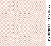 seamless pink geo pattern | Shutterstock .eps vector #457346722