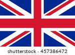 flag of the united kingdom | Shutterstock .eps vector #457386472