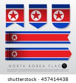 Set Of World Flag Ribbon...