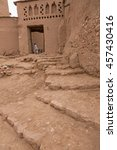Small photo of Street Ait Benhaddou Kasbah in Morocco