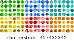 mega pack of 144 in 1 natural... | Shutterstock . vector #457432342