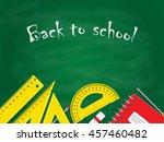back to school concept  school... | Shutterstock . vector #457460482