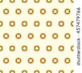 summer seamless pattern with... | Shutterstock .eps vector #457479766