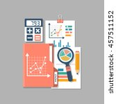 financial accounting  concept.... | Shutterstock .eps vector #457511152