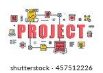 modern vector illustration... | Shutterstock .eps vector #457512226