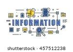 modern vector illustration... | Shutterstock .eps vector #457512238
