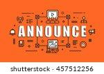 modern vector illustration... | Shutterstock .eps vector #457512256