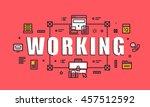 modern vector illustration... | Shutterstock .eps vector #457512592