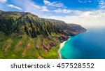 aerial landscape view of... | Shutterstock . vector #457528552