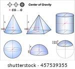 center of gravity | Shutterstock .eps vector #457539355