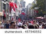 istanbul  turkey   july 24  a...   Shutterstock . vector #457540552