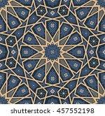 islamic seamless oriental...   Shutterstock .eps vector #457552198