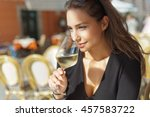 outdoors portrait of a...   Shutterstock . vector #457583722