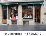 brussels  belgium   may 28 ... | Shutterstock . vector #457602142