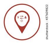 business  icon. flat design.   Shutterstock .eps vector #457609822
