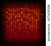 vector illustration of red... | Shutterstock .eps vector #457629208